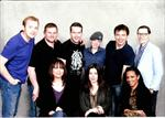 Torchwood cast and one of our cadets